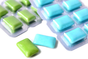 Asheville dentist recommends chewing gum with Xylitol.